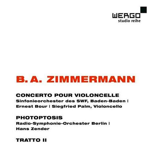 The listener bernd alois zimmermann cellokonzert for Klassische holzverbindungen zimmermann